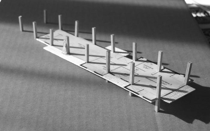 maison bois sur pilotis grazac une r alisation de gallet architectes. Black Bedroom Furniture Sets. Home Design Ideas