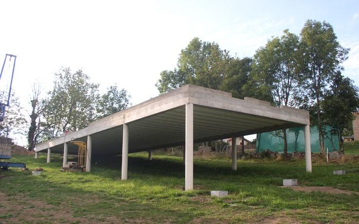 Maison bois sur pilotis à Grazac : une réalisation de GALLET Architectes