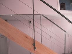 Appartement Canut à Lyon : escalier