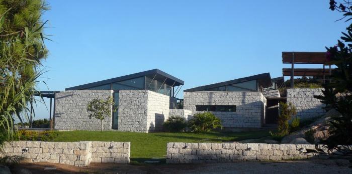 Villa individuelle : vue depuis le Nord