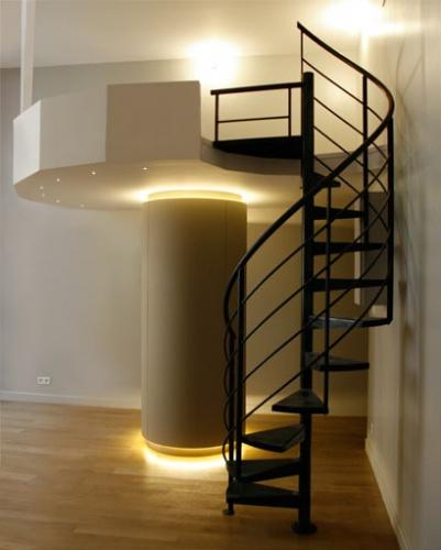 Rénovation d'un studio : mezzanine lit d'appoint