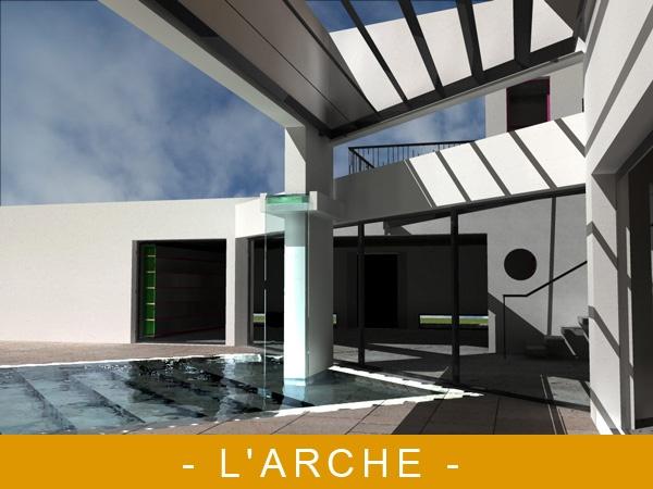 L'arche : IMAGE DE SYNTHESE