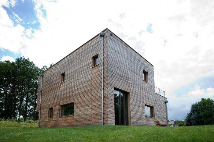Maison Passive à Limoges : Extérieur 02