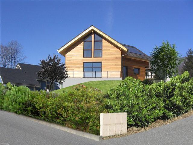 Maison ossature bois en Savoie