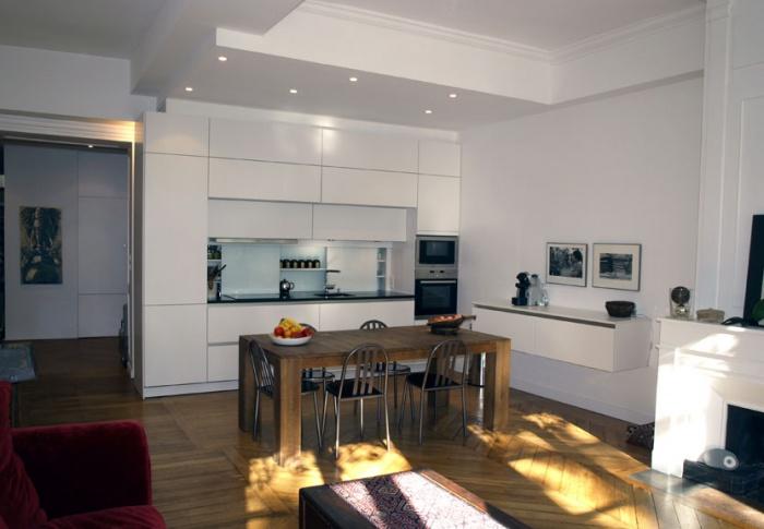 rénovation d\' un logement ancien à Lyon : une réalisation de Jean ...