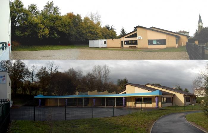Extension école primaire : Edl - Projet