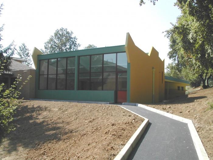 Extension école primaire : Salle