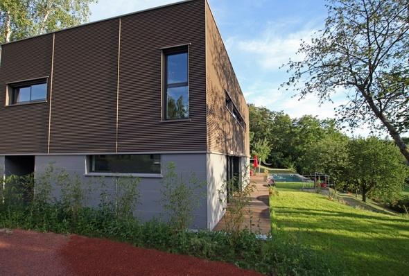 Maison contemporaine HQE : texL03