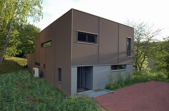 Maison contemporaine HQE : texL05