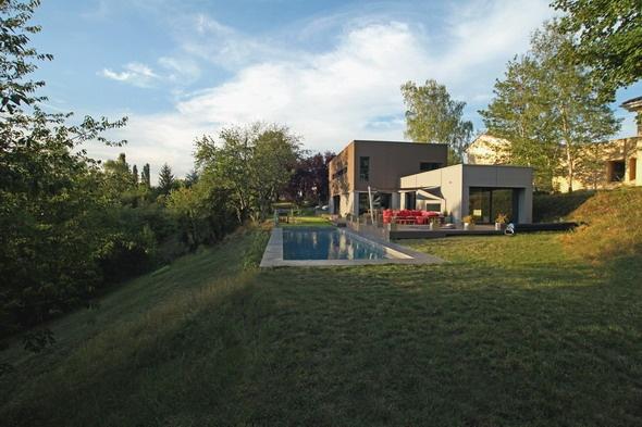 Maison contemporaine HQE : texL07