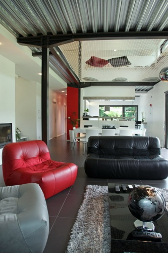 Maison contemporaine HQE : texL18