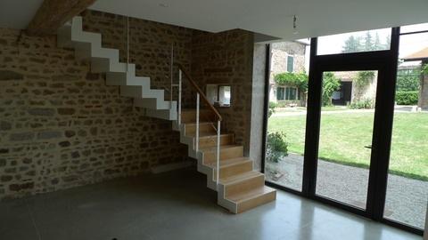 Réhabilitation d'une Maison dans les Monts d'Or : chir28