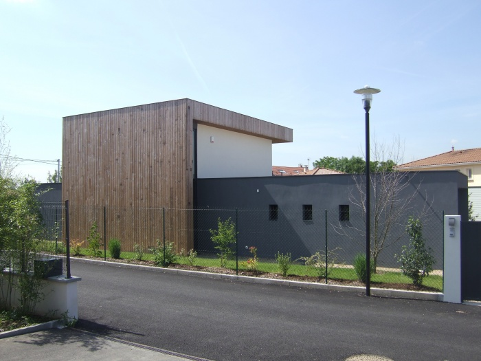 Maison Corbeel : Façade Nord