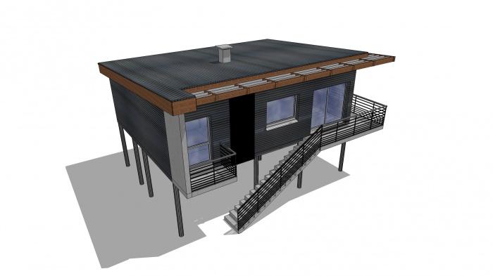 Villa BASALTE : 3D2 PS CLAIRE