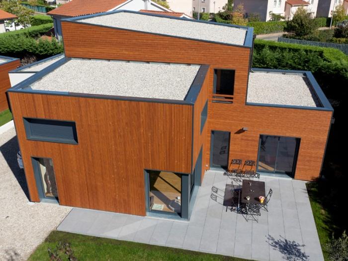 maison contemporaine BBC Rillieux-la-Pape