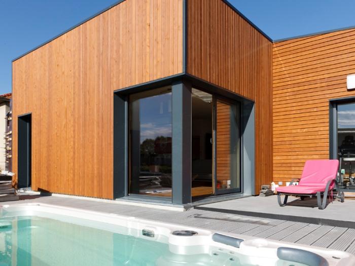 Maison BBC ossature bois à Lyon
