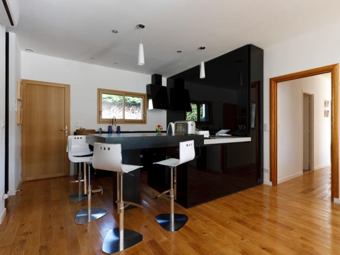 Maison BBC ossature bois à Lyon : architecte lyon maison bbc ossature bois