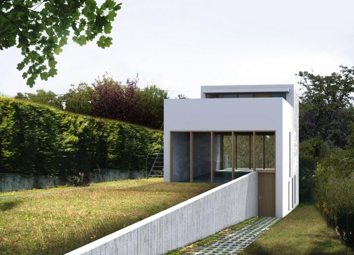 Maison avec toit jardin : sg2