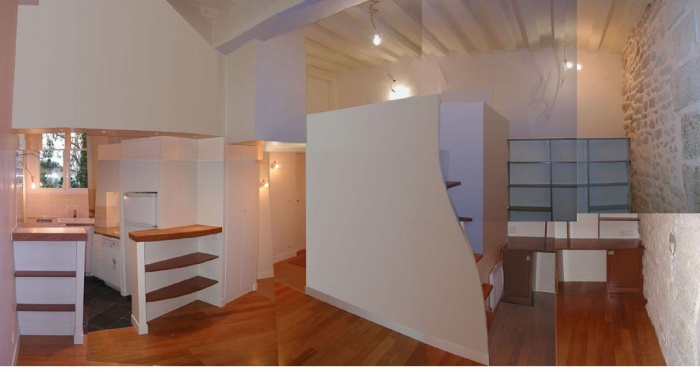 Rénovation d'un studio