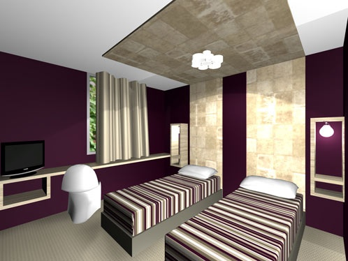 Rénovation d'un hotel : ch2-1