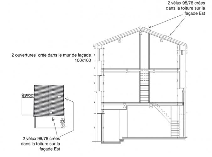Réhabilitation d'une Maison dans les Monts d'Or : 25_Réhabilitation Maison Monts d\'Or (1)