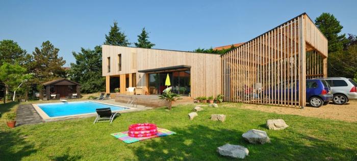 Maison contemporaine bois & ouate de cellulose / Basse énergie : 01_PARA.jpg