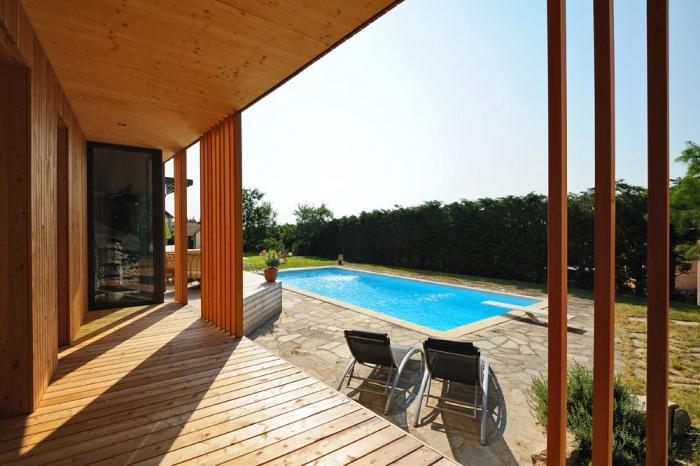 Maison contemporaine bois & ouate de cellulose / Basse énergie : 04_PARA.jpg