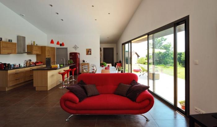 Maison contemporaine bois & ouate de cellulose / Basse énergie : 11_PARA.jpg