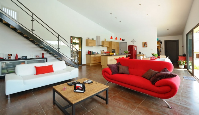 Maison contemporaine bois & ouate de cellulose / Basse énergie : 12_PARA.jpg