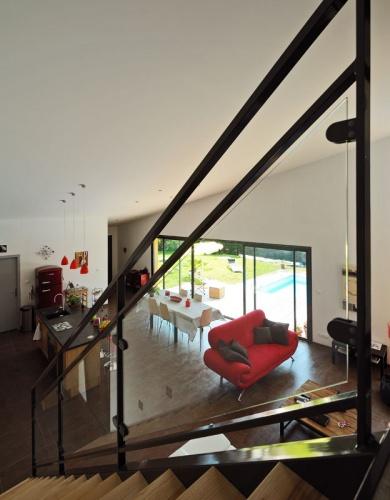 Maison contemporaine bois & ouate de cellulose / Basse énergie : 14_PARA.jpg