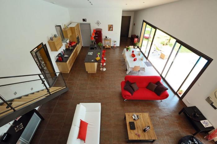Maison contemporaine bois & ouate de cellulose / Basse énergie : 15_PARA.jpg