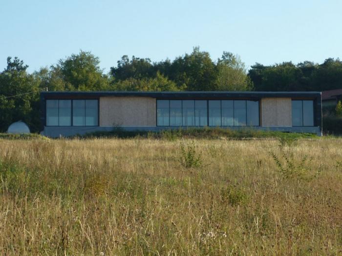 Maison contemporaine bois & paille : P1020091.JPG