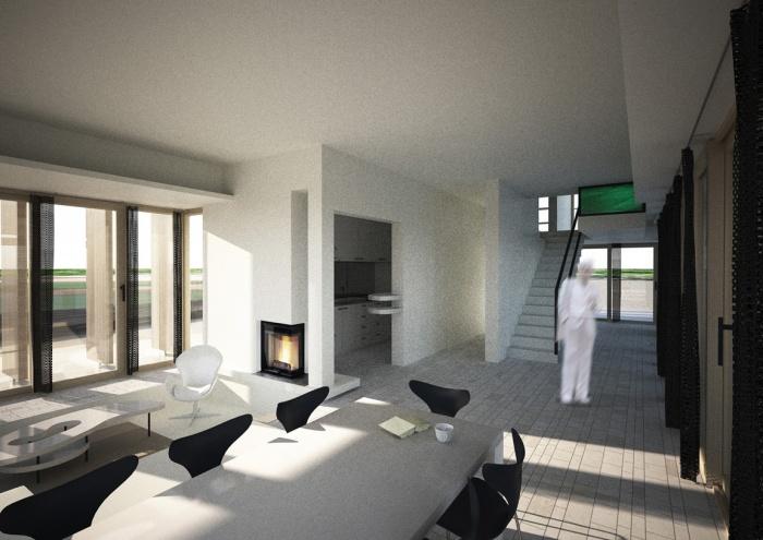 Villa B2 : Vue sur le salon