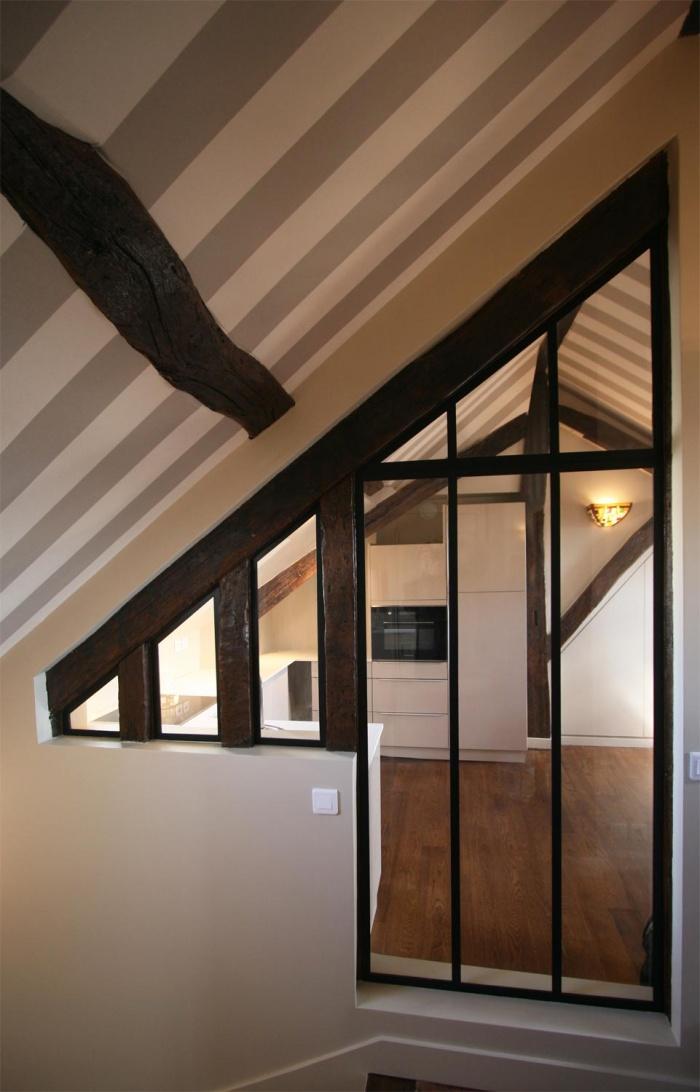 Décoration et rénovation d'un appartement à Saint Germain des Prés : appartement-saint-germain-paris-2