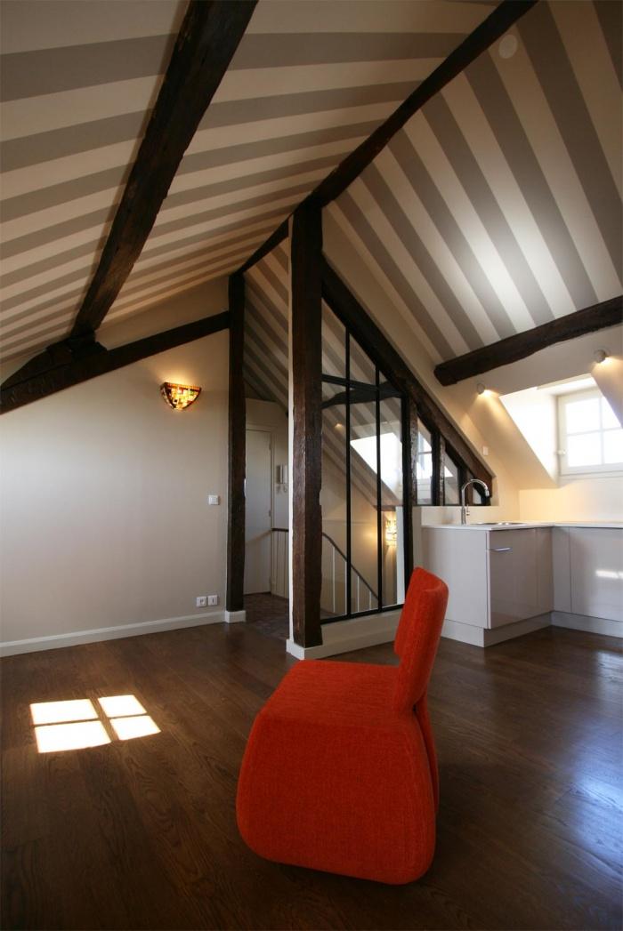 Décoration et rénovation d'un appartement à Saint Germain des Prés : appartement-saint-germain-paris-3