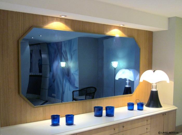 LOBBY HOTEL LES CELESTINS***** : Projet Linxe Renson - miroir