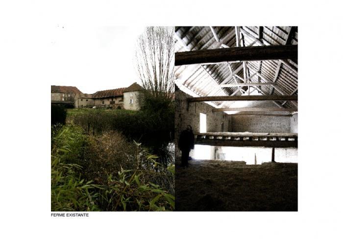 Réhabilitation/Extension de la ferme du couvent en salle de réception : MEP-CHF2