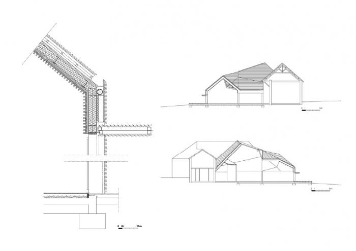 Réhabilitation/Extension de la ferme du couvent en salle de réception : MEP-CHFbis2