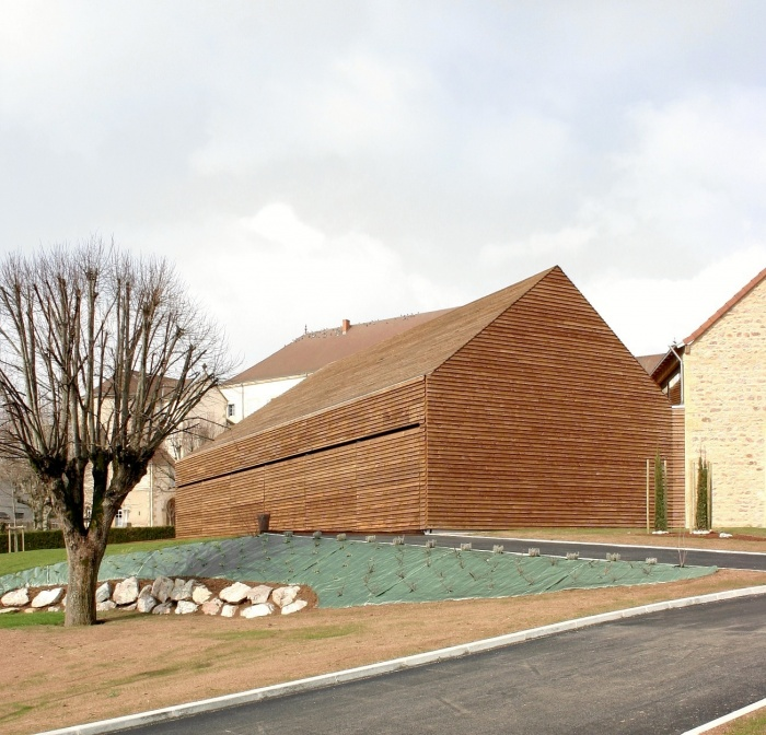 Réhabilitation/Extension de la ferme du couvent en salle de réception : IMG_0052 - copie