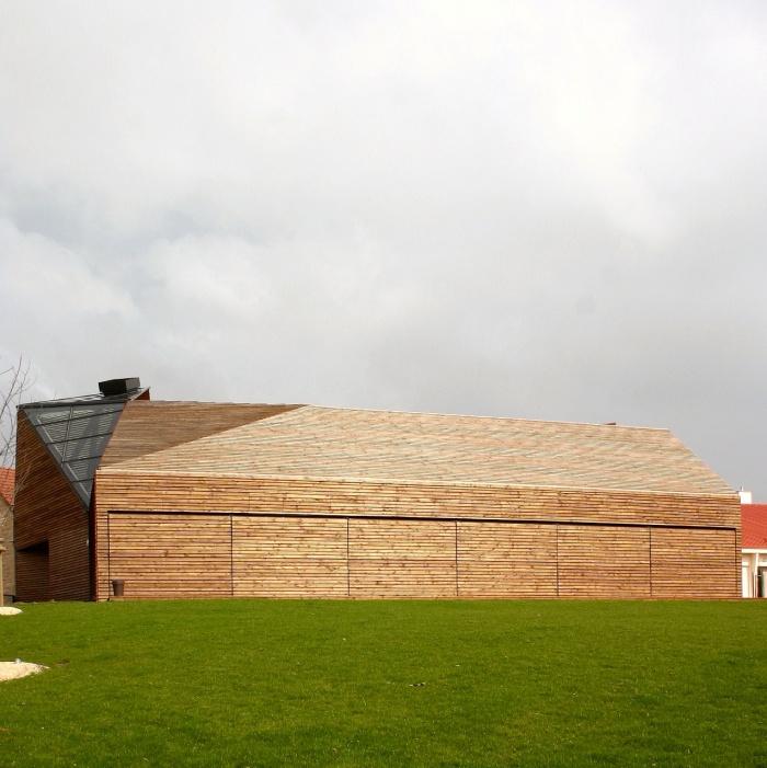 Réhabilitation/Extension de la ferme du couvent en salle de réception : IMG_0081 - copie