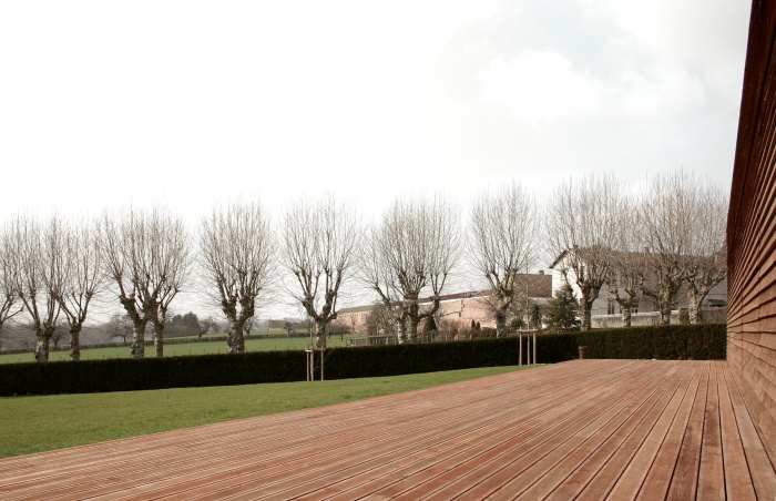 Réhabilitation/Extension de la ferme du couvent en salle de réception : IMG_0119 - copie