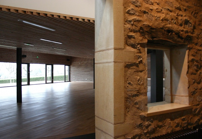 Réhabilitation/Extension de la ferme du couvent en salle de réception : IMG_3757 - copie.JPG