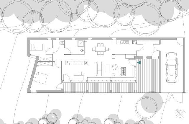 Construction d'une maison en ossature bois : fost-architecture_GRAN_04_plan-rdc_item-type-6